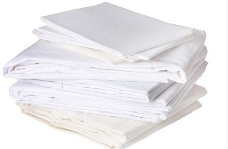 Plain Cotton Sheets - Autoclave