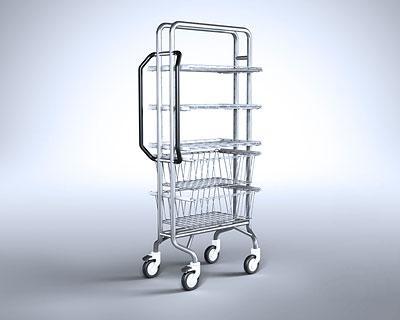 Getinge - SMART Distribution Trolley Open
