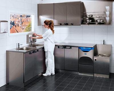 Furniture for Disinfection / Sluice Rooms
